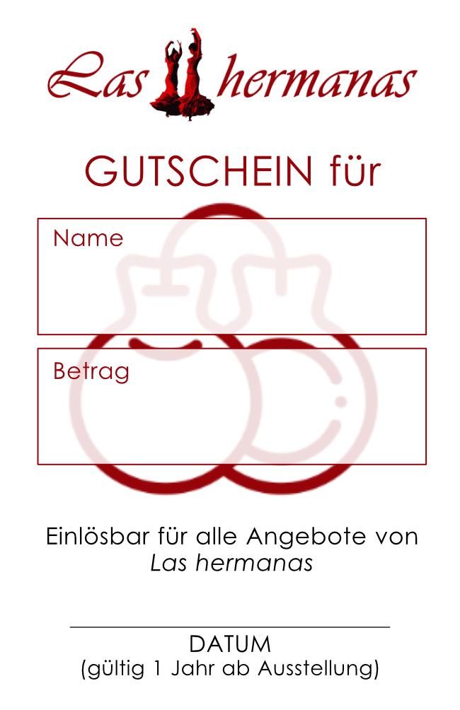 Gutschein - Las hermanas